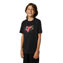 T-SHIRT FOX JUNIOR PYRE BLACK