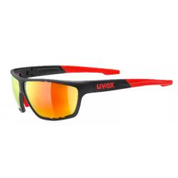 OKULARY UVEX LGL706 BLACK RED