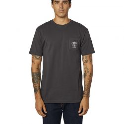 T-SHIRT FOX WRENCHED PCKT...